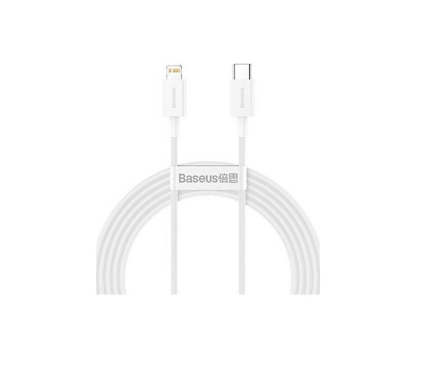 Baseus USB Cable Superior Series CATLYS-C02 Type- C iPhone Lightning 2M 20W White