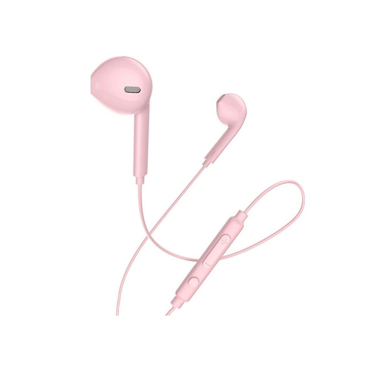 Hoco Earphones Memory M55 3.5mm Pink