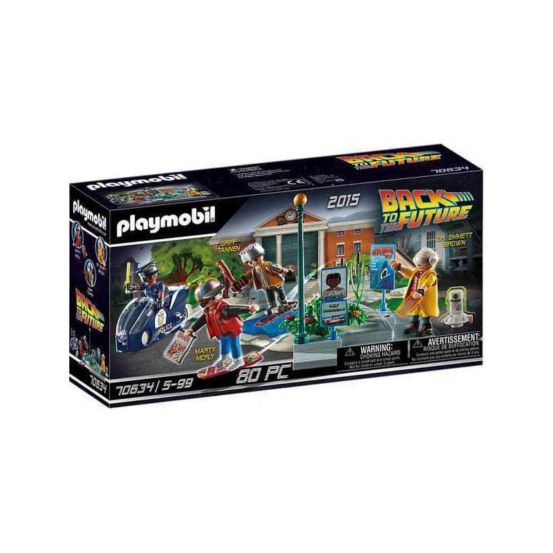 Playmobil Back to Future: Περιπέτειες με τα Ιπτάμενα Πατίνια 70634