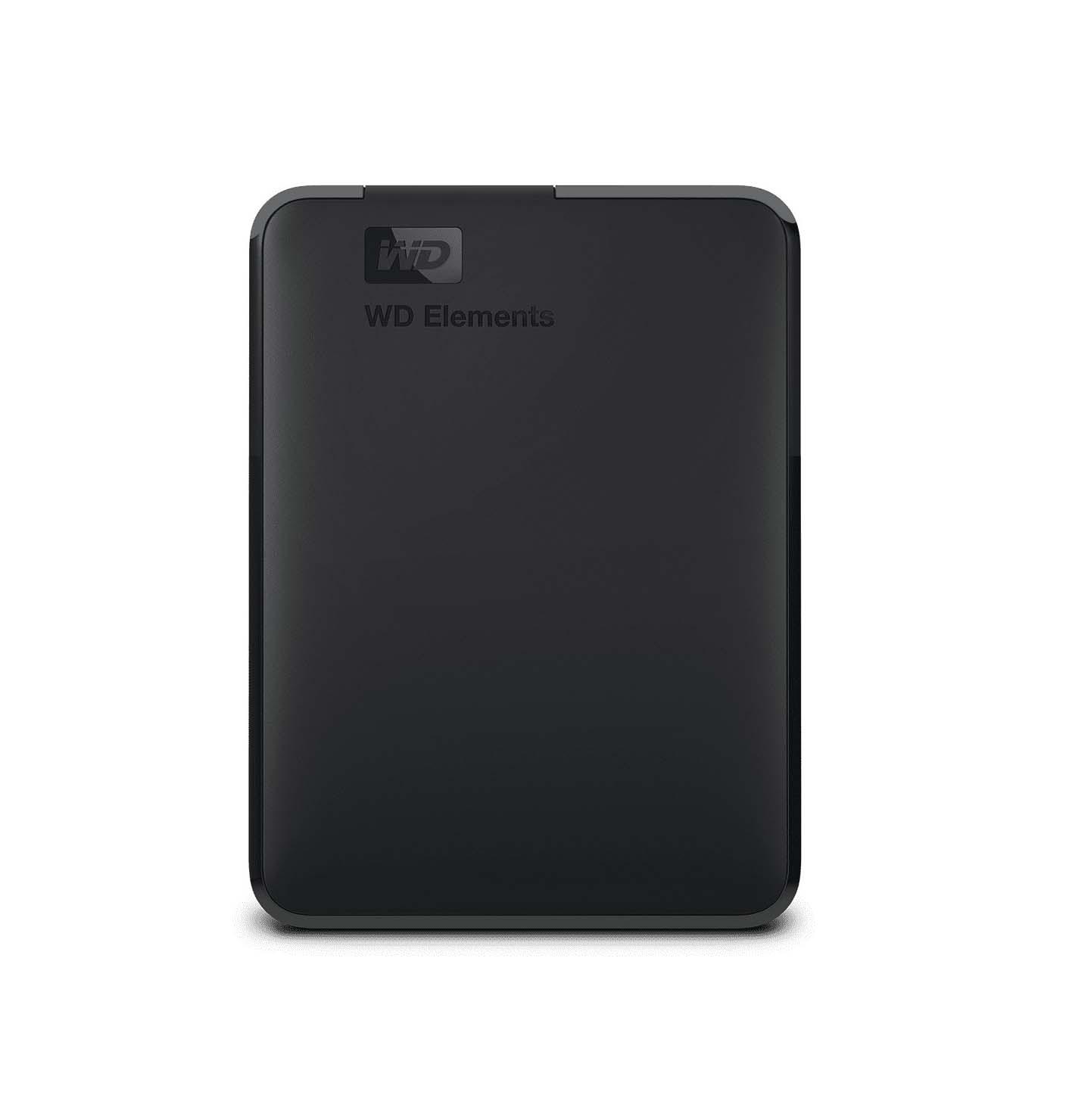 Western Digital Elements Portable 5TB Εξωτερικός Σκληρός Δίσκος USB 3.0*  WDBU6Y0050BBK-WESN