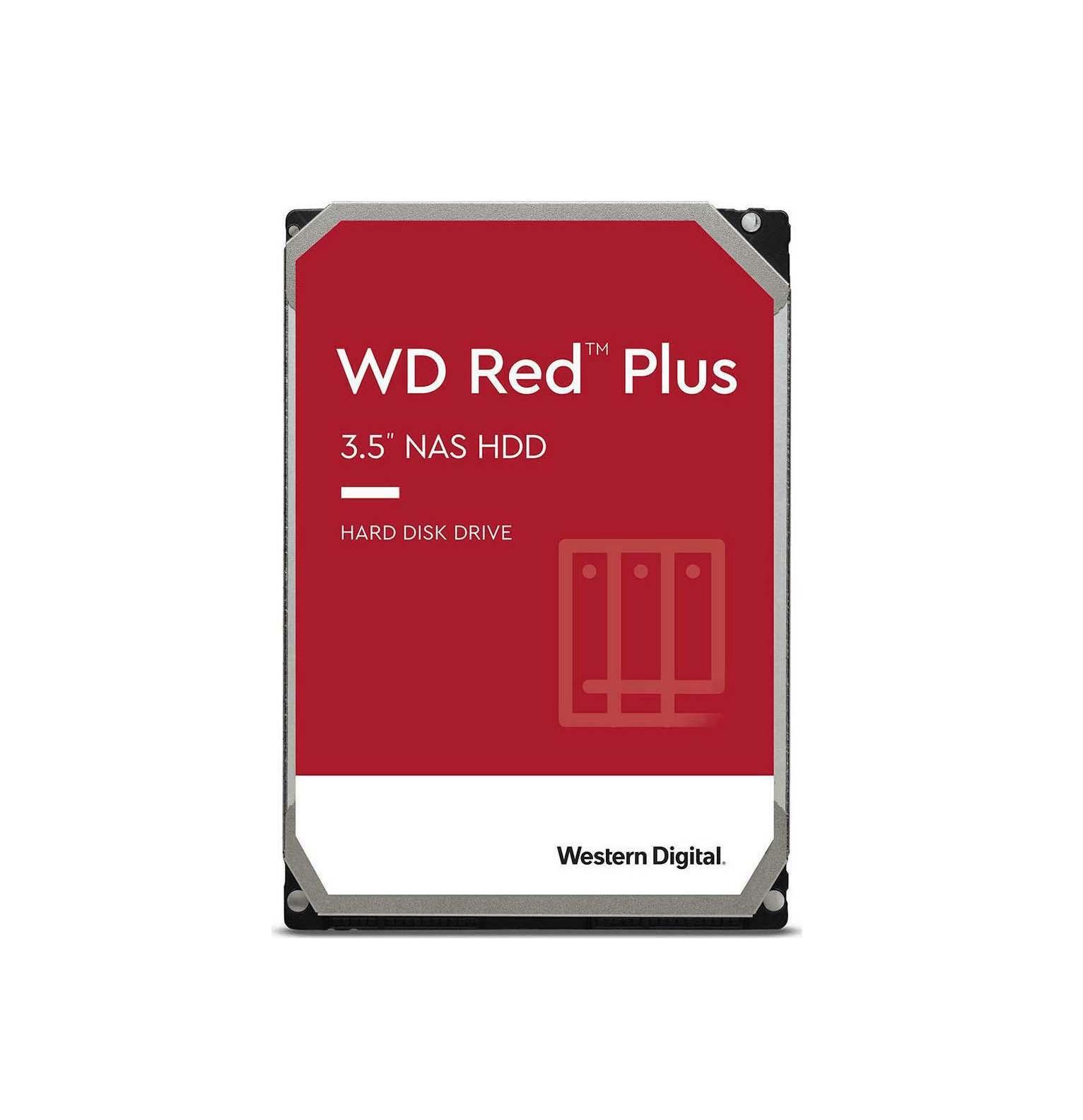 Western Digital Red Plus 10TB WD101EFBX Σκληρός Δίσκος 3.5'' Sata 3