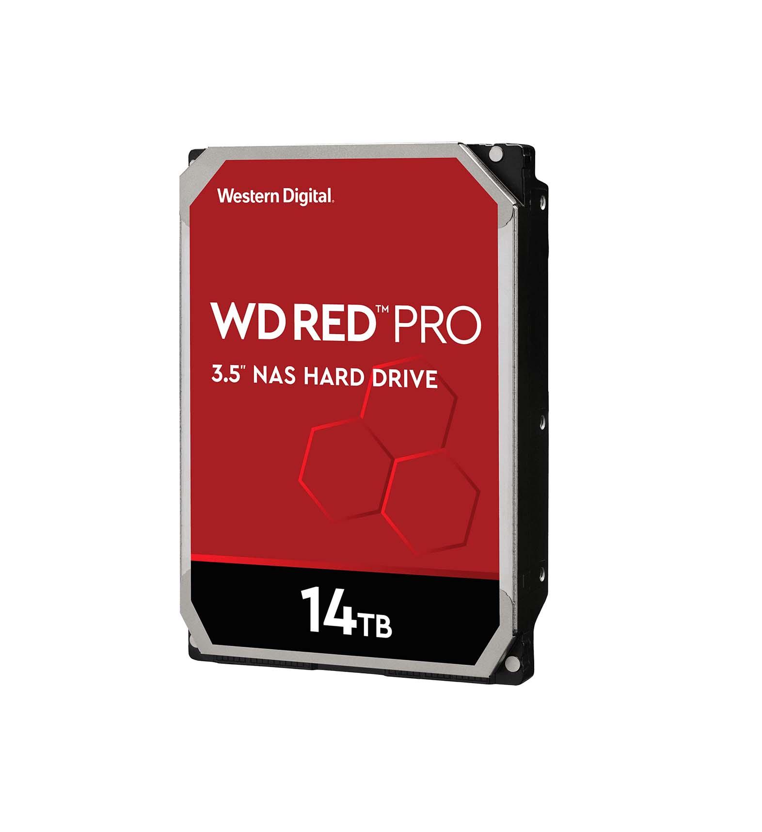 Western Digital Red Pro 14TB WD141KFGX Σκληρός Δίσκος 3.5'' Sata 3