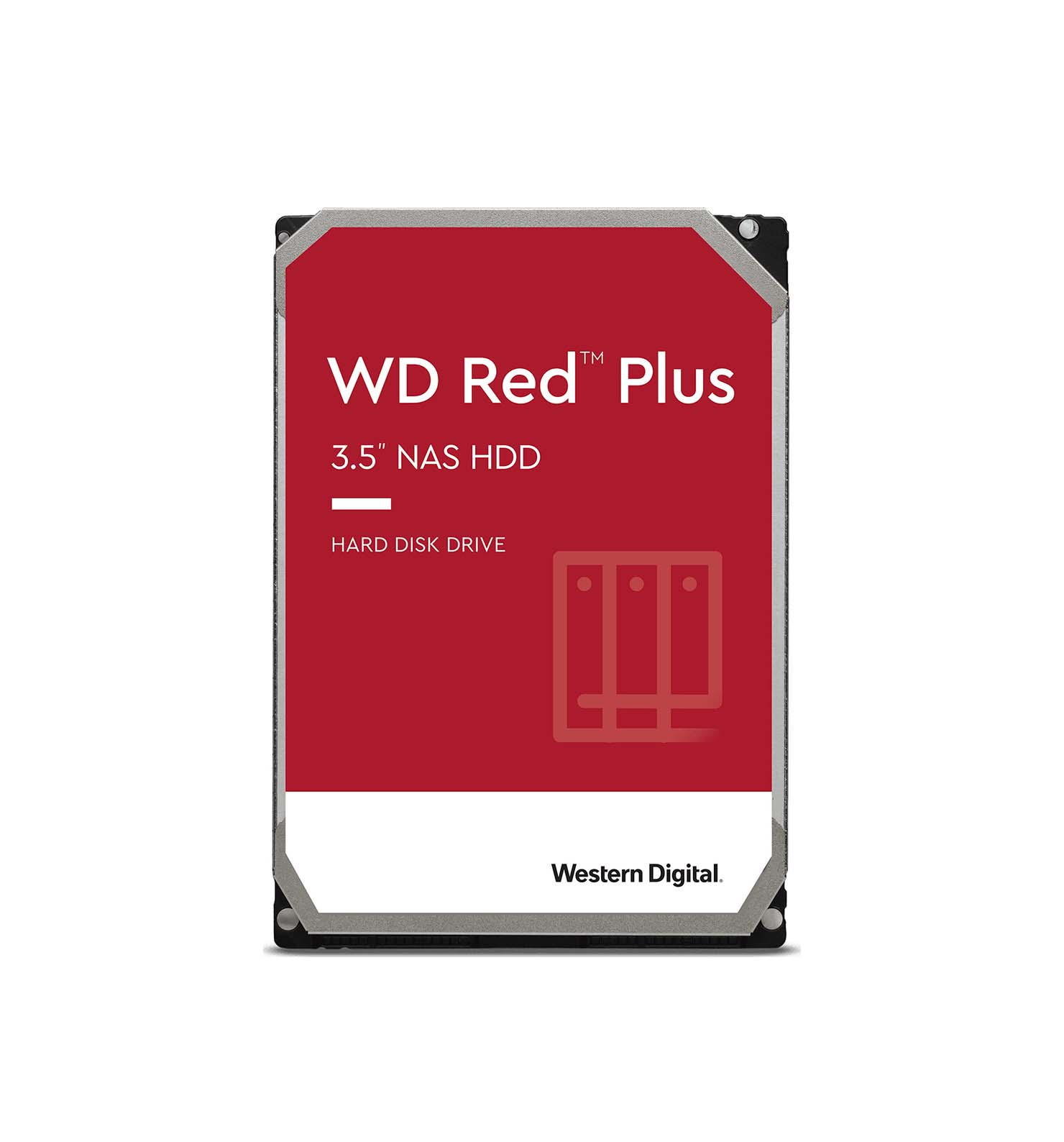 Western Digital Red Plus 4TB WD40EFZX Σκληρός Δίσκος 3.5'' Sata 3