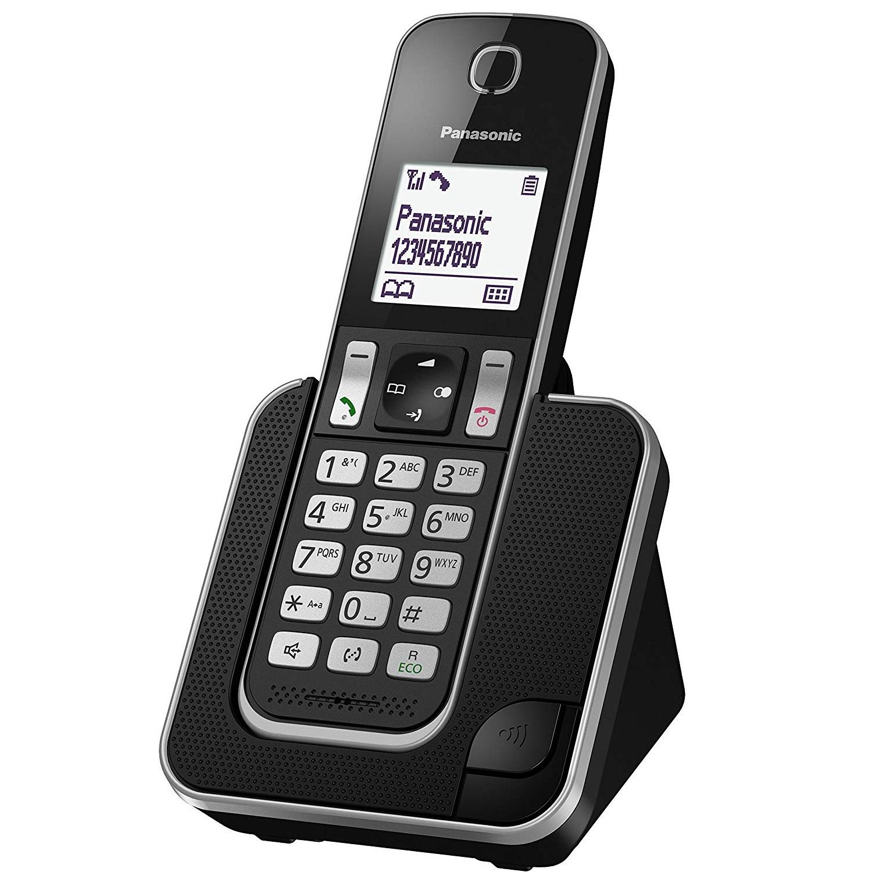 Panasonic KX-TGD310JTB Τηλέφωνο Ασύρματο Μαύρο