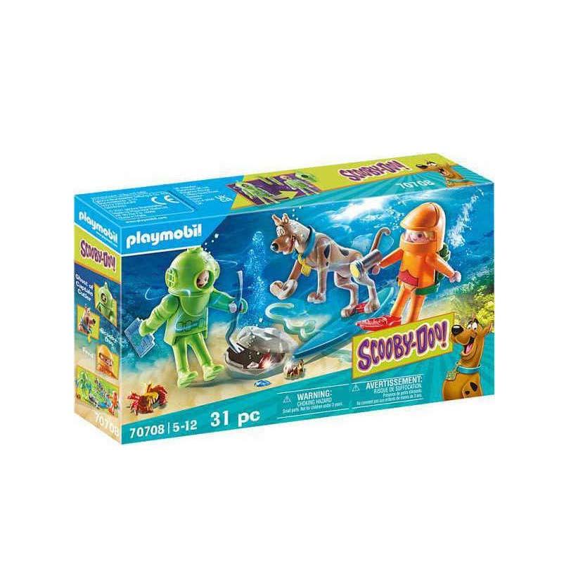 Playmobil Scooby-Doo: Περιπέτεια με τον Ghost Diver 70708