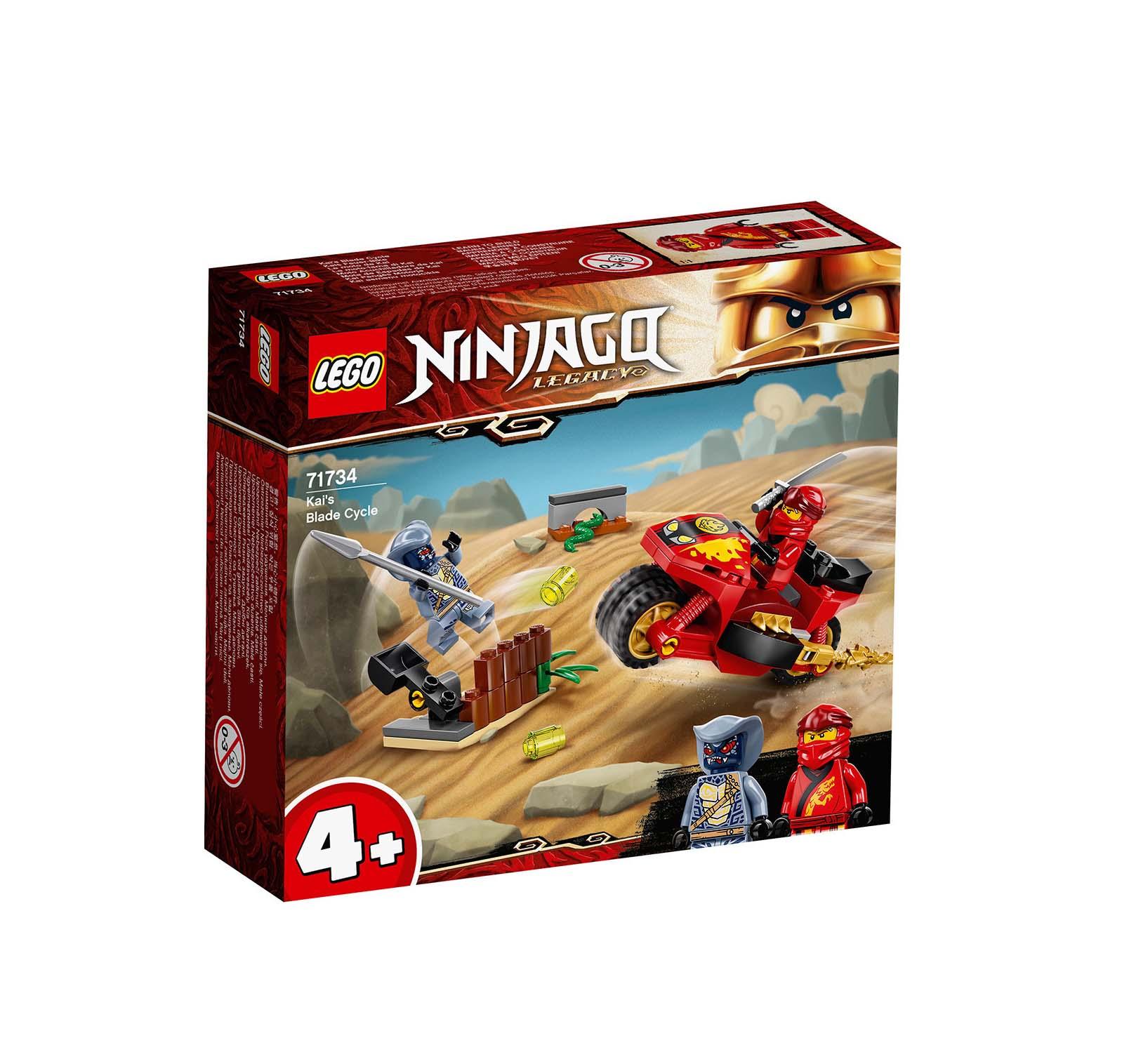 Lego Ninjago: Kai's Blade Cycle 71734