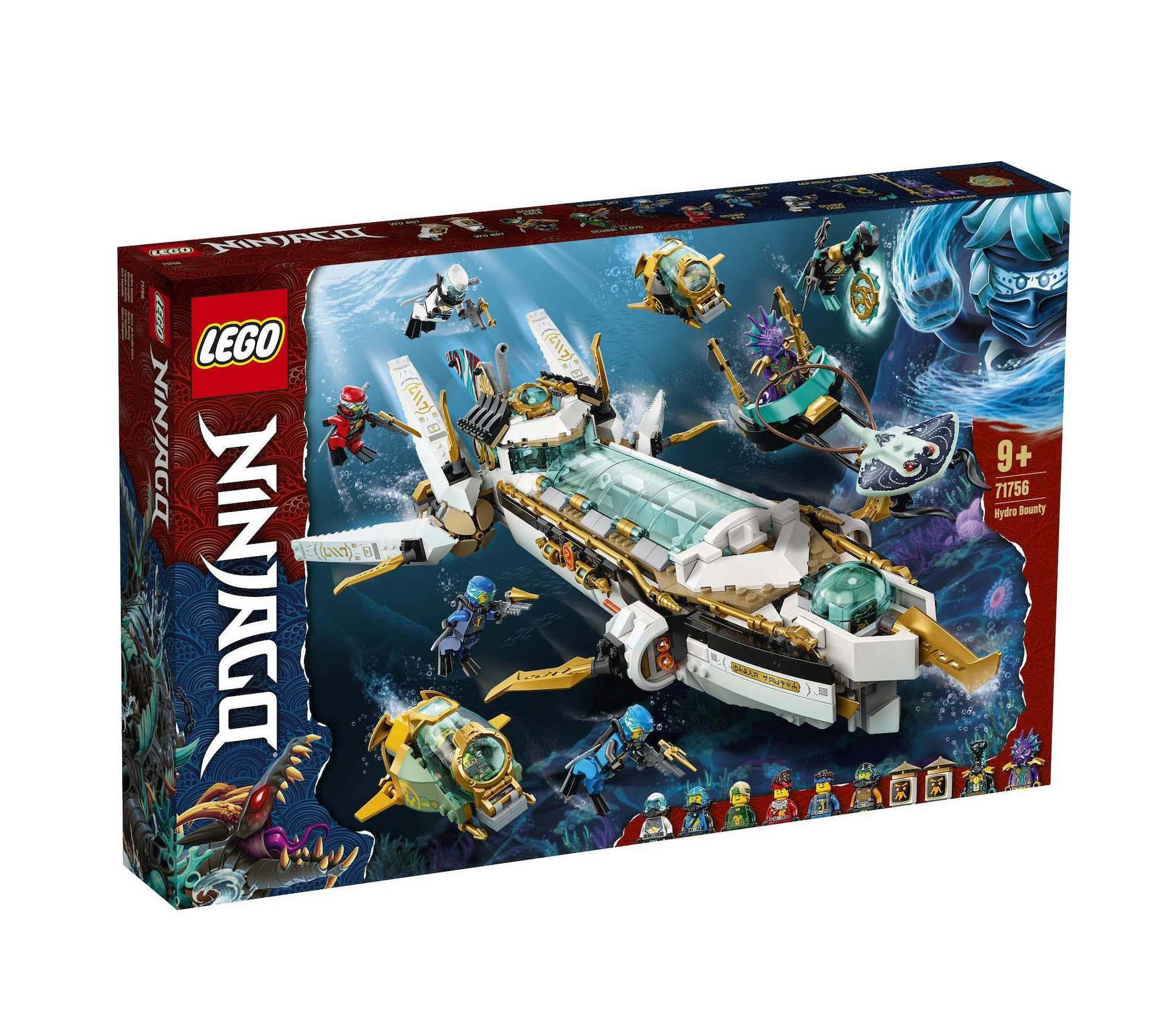 Lego Ninjago: Hydro Bounty 71756