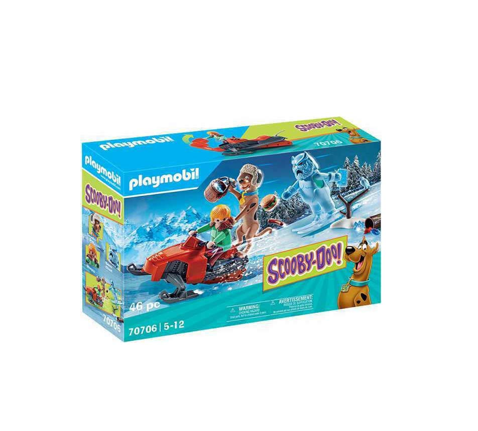 Playmobil Scooby-Doo: Περιπέτεια με τον Snow Ghost 70706