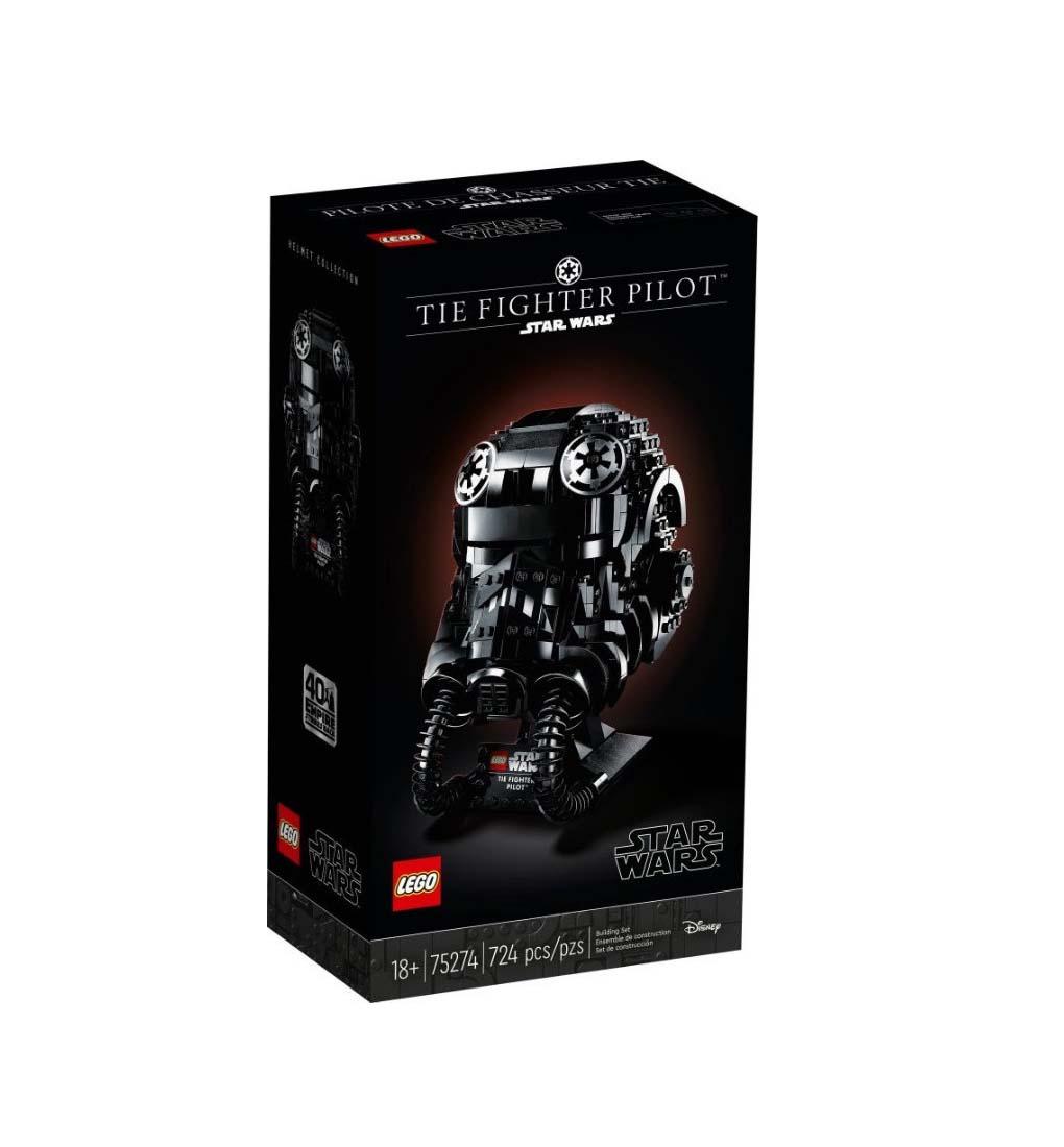 Προσθήκη στη Σύγκριση menu Lego Star Wars: TIE Fighter Pilot Helmet 75274