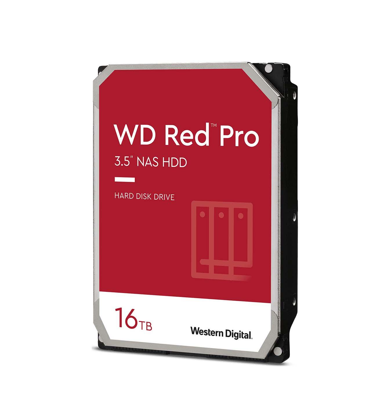 Western Digital Red Pro 16TB WD161KFGX Σκληρός Δίσκος 3.5'' Sata 3