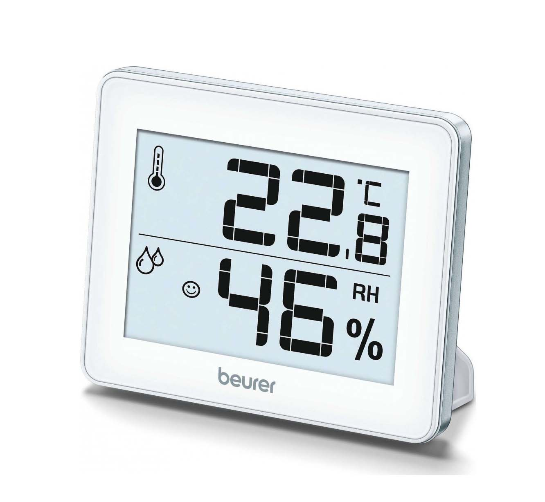 Beurer ΗΜ 16 Θερμόμετρo & Υγρασιόμετρo Επιτραπέζιο για Χρήση σε Εσωτερικό Χώρο 67915