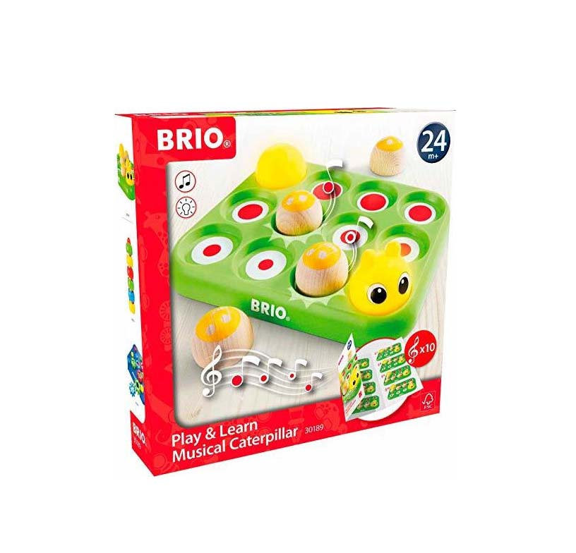 Brio Toys Play & Learn Musical Caterpillar 30189