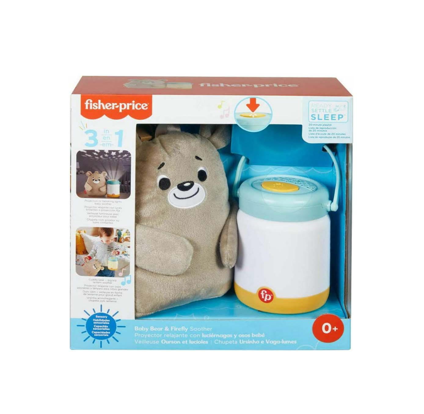 Fisher Price Baby Bear Μουσικός Προβολέας GRR00