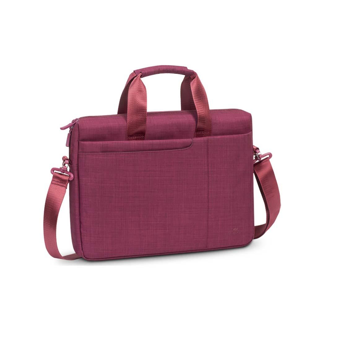 """Rivacase Biscayne 8335 Τσάντα Ώμου / Χειρός για Laptop 15.6"""" Red"""