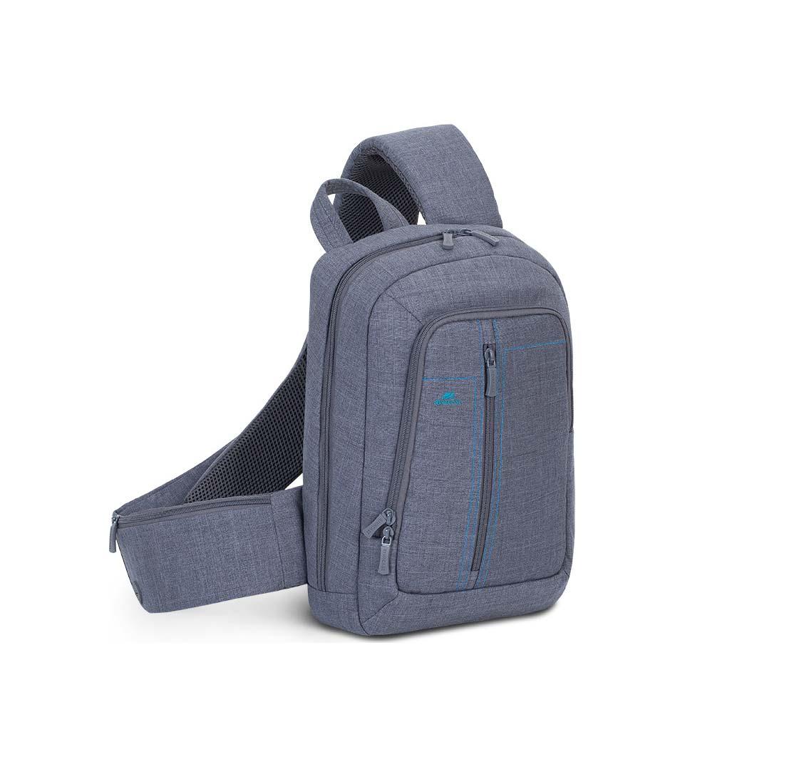 "Rivacase Alpendorf 7529 Αδιάβροχη Τσάντα Πλάτης για Laptop 13.3""  Grey"