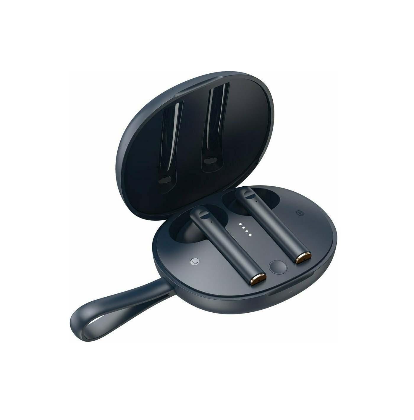 Baseus Encok W05 NGW05-03 Earbud Bluetooth Handsfree Navy Blue
