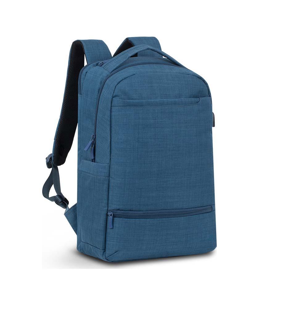 """Rivacase Biscayne 8365 Τσάντα Πλάτης για Laptop 17.3""""  Blue"""