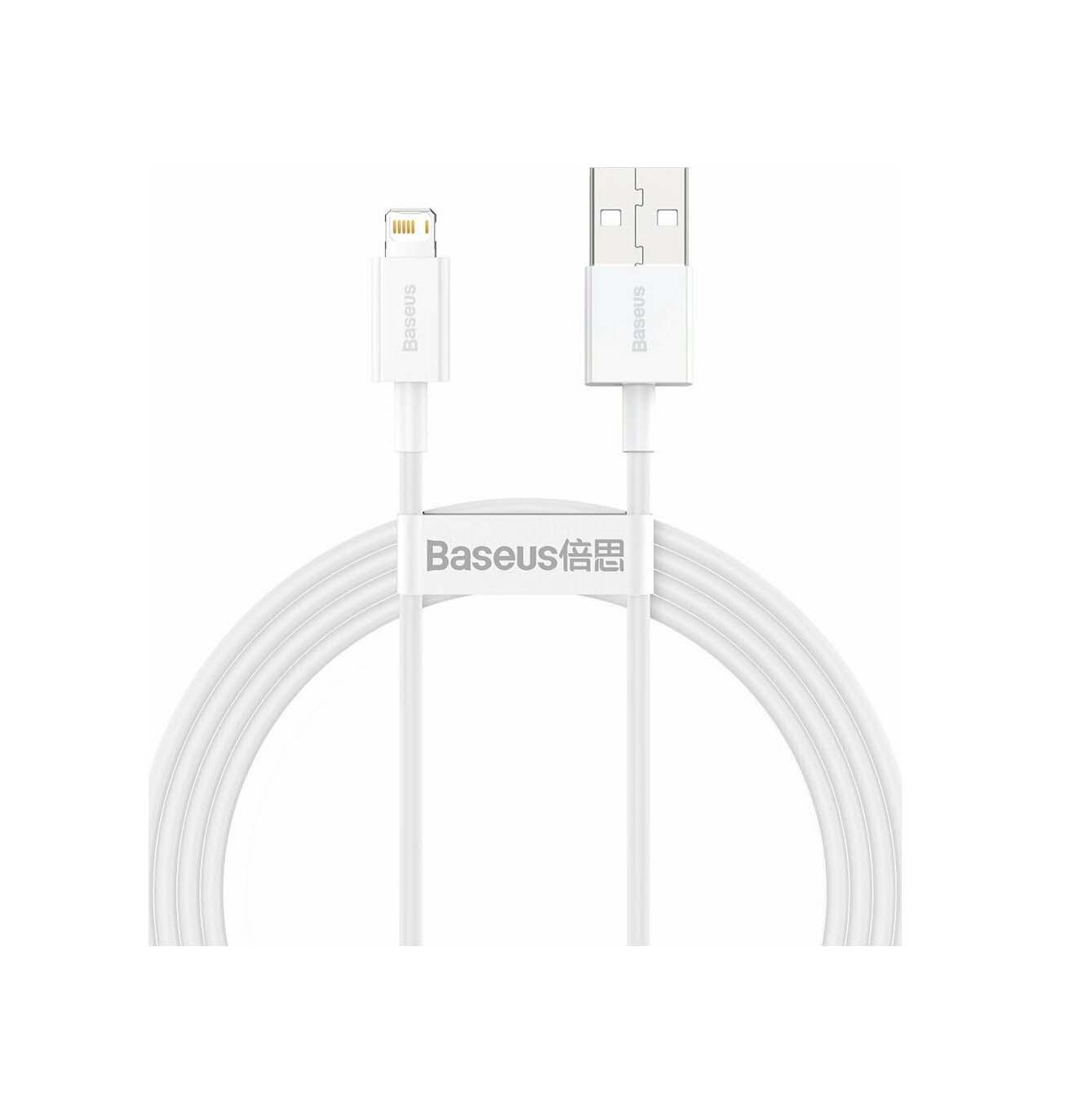 Baseus USB Cable - Superior Series CALYS-B02 USB Lightning 1.5M 2.4A Quick Charging White