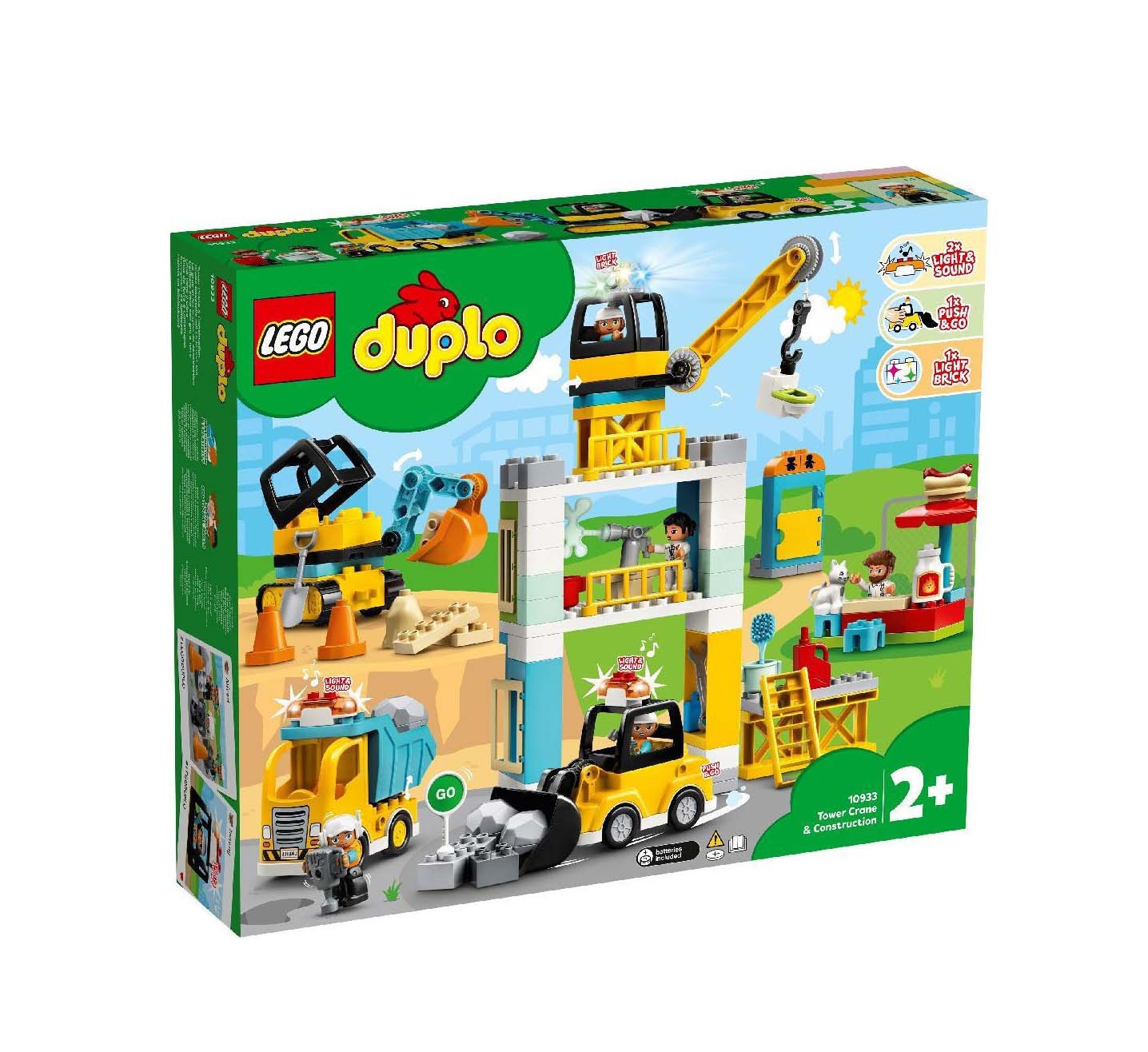 Lego Duplo: Tower Crane & Construction 10933