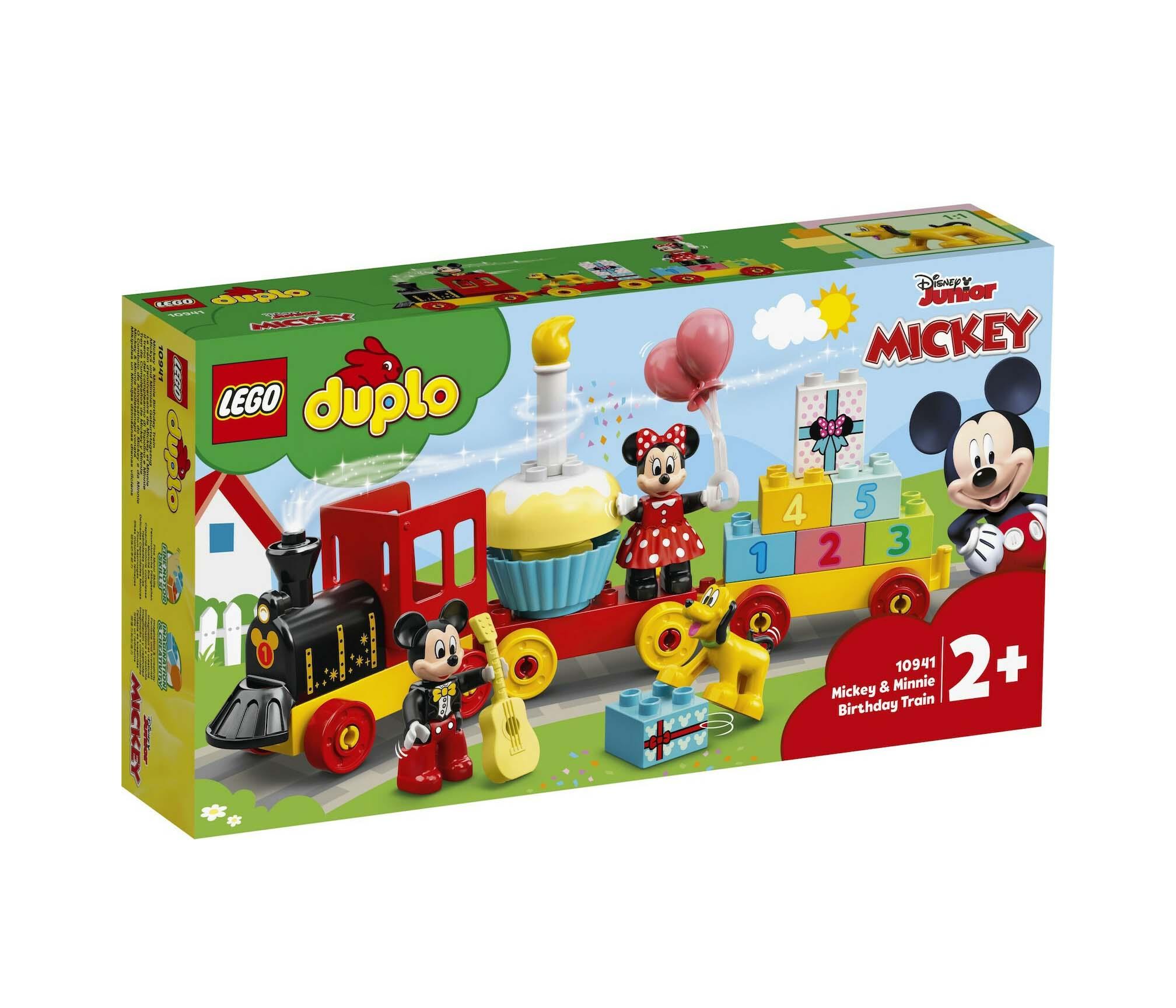 Lego Disney: Mickey And Minnie Birthday Train 10941