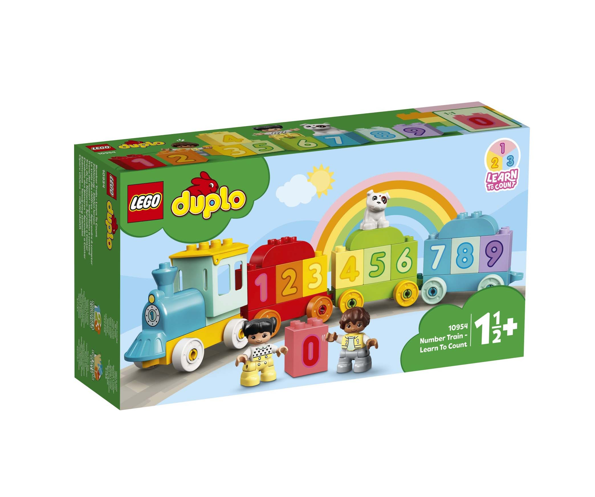 Lego Duplo: Number Train Learn To Count 10954