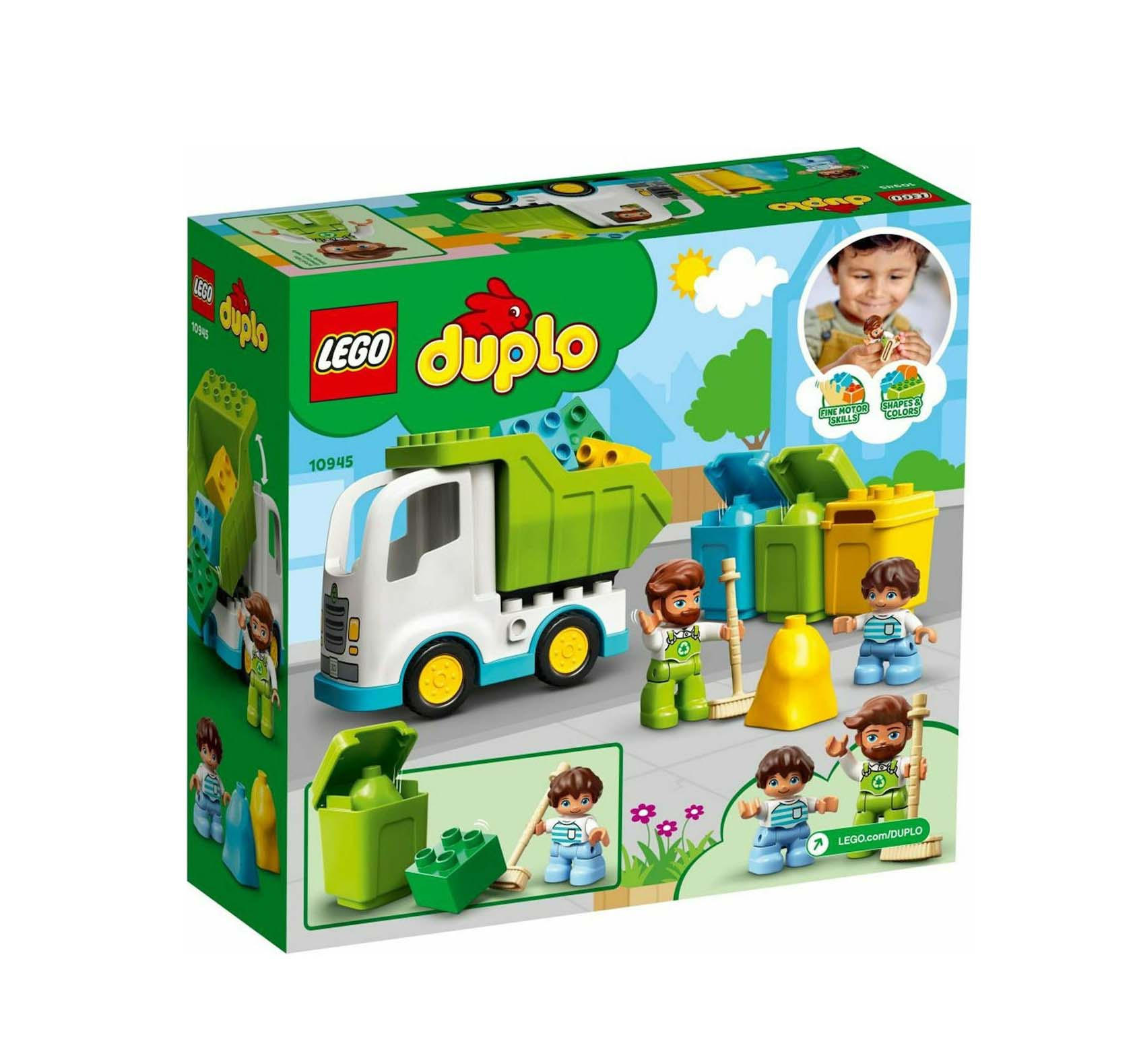 Lego Duplo: Garbage Truck and Recycling 10945