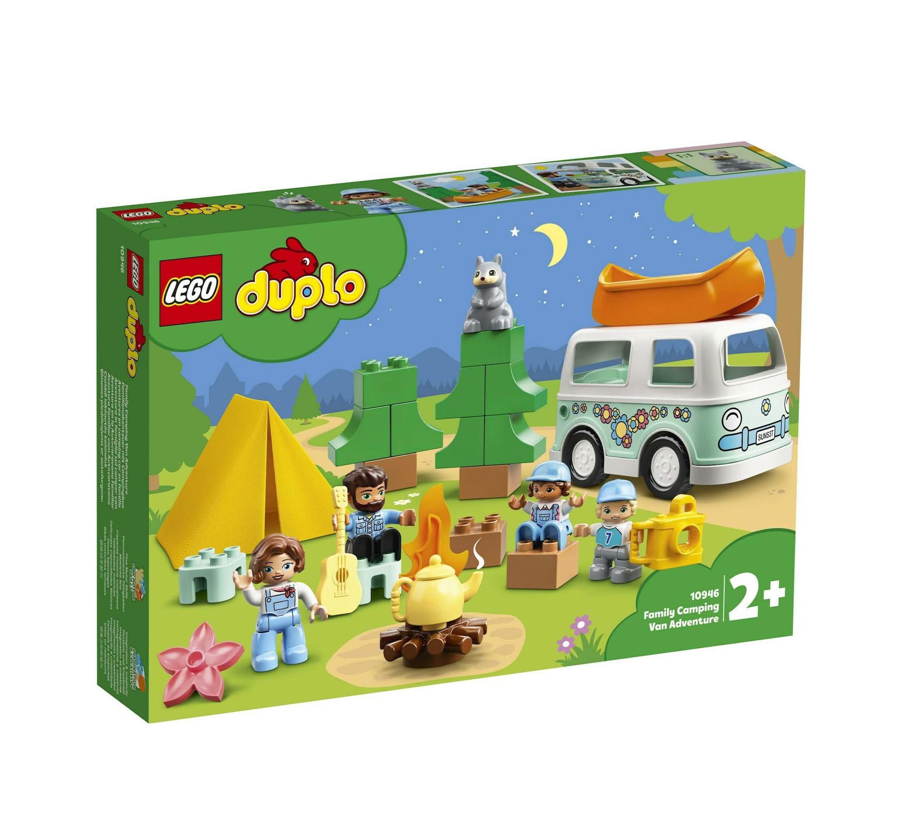 Lego Duplo: Family Camping Van Adventure 10946