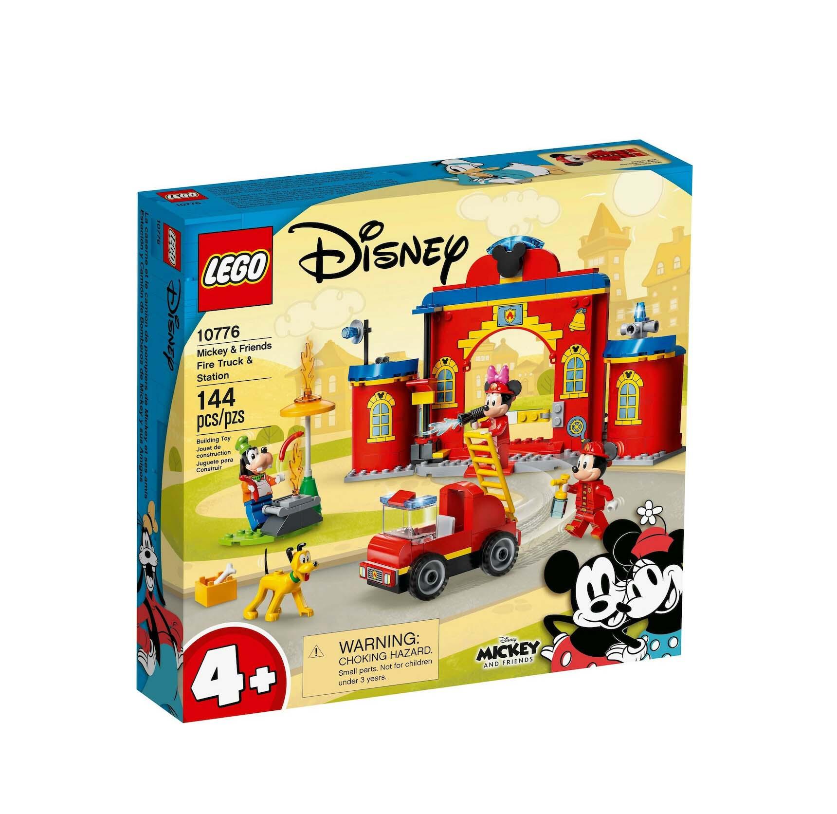 Lego Disney: Mickey & Friends Fire Truck & Station 10776