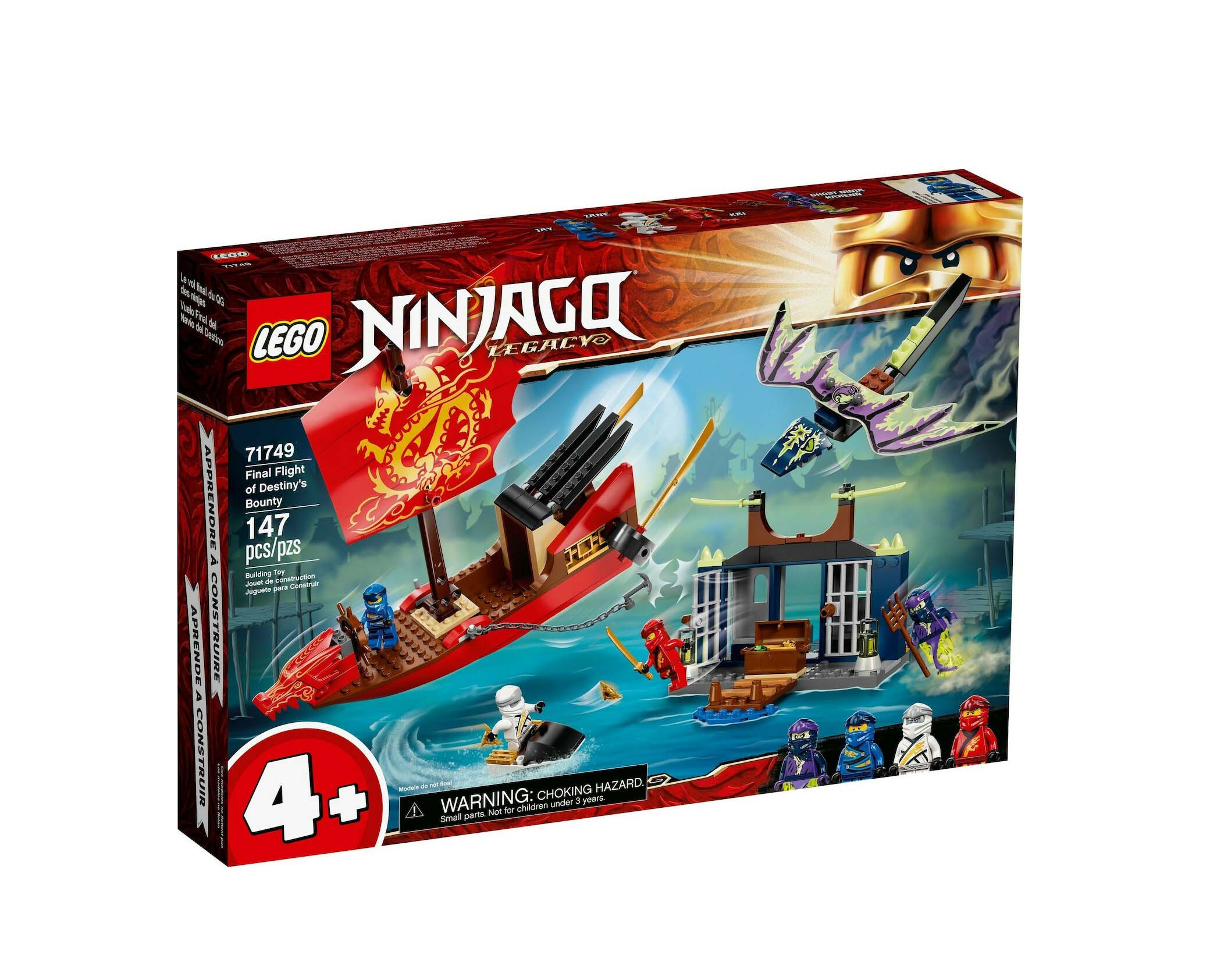 Lego Ninjago: Final Flight of Destiny's Bounty 71749