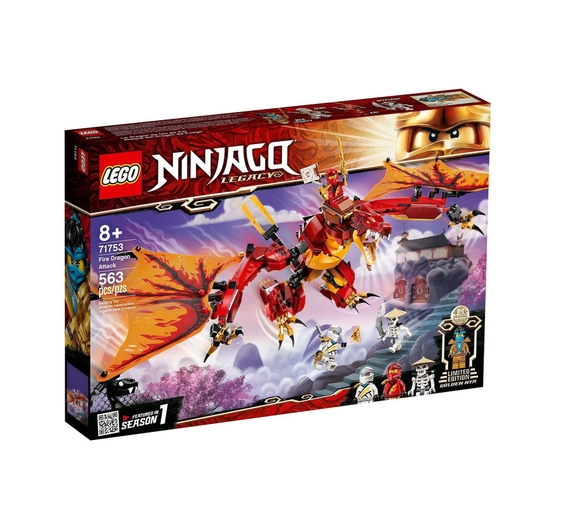 Lego Ninjago: Fire Dragon Attack 71753