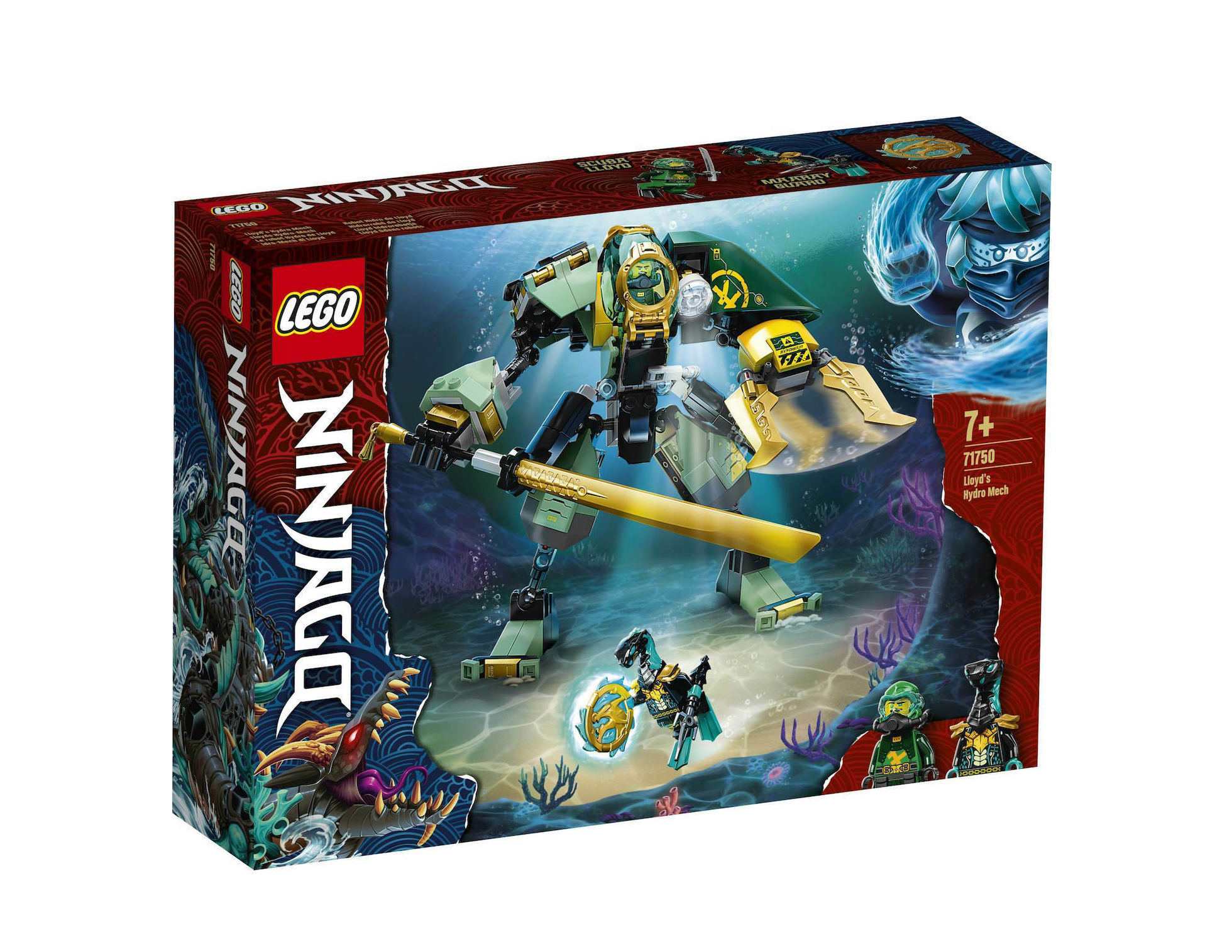 Lego Ninjago: Lloyd's Hydro Mech 71750
