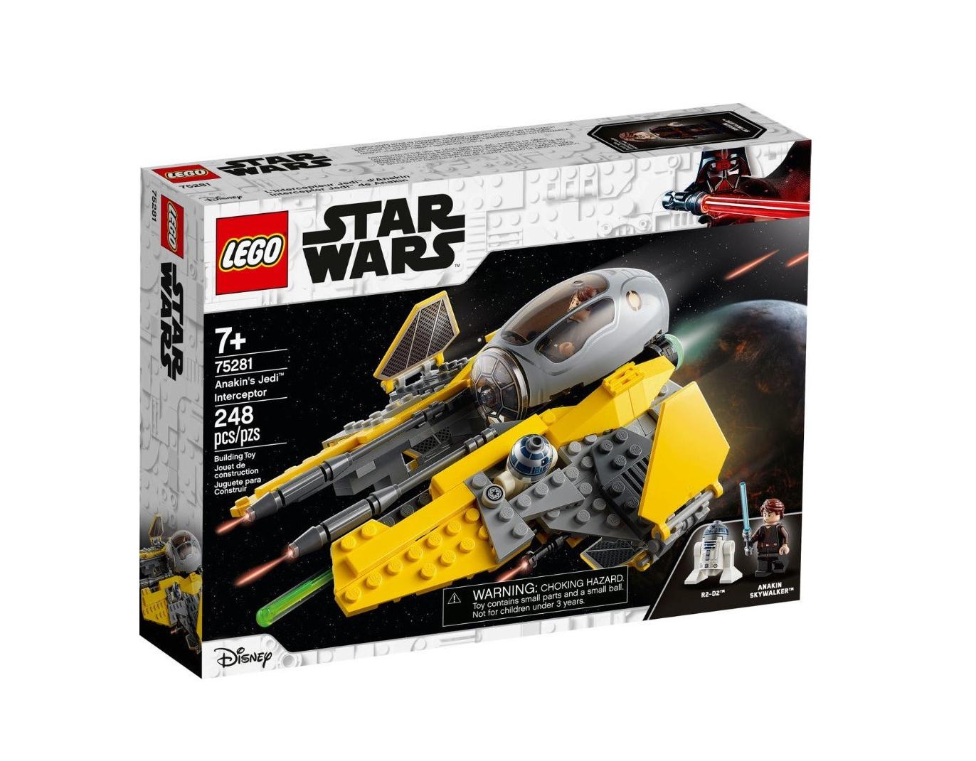 Lego Star Wars: Anakin's Jedi Interceptor 75281