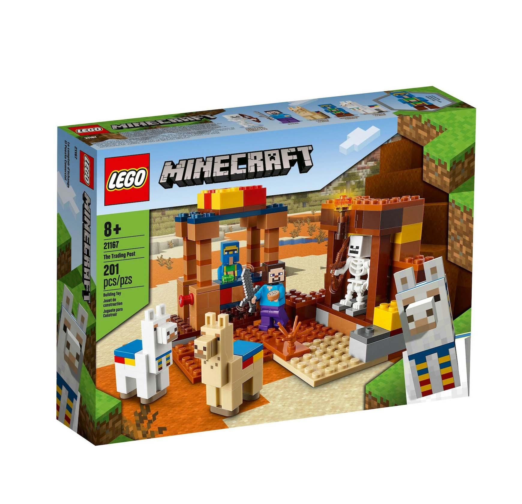 Lego Minecraft: Trading Post 21167