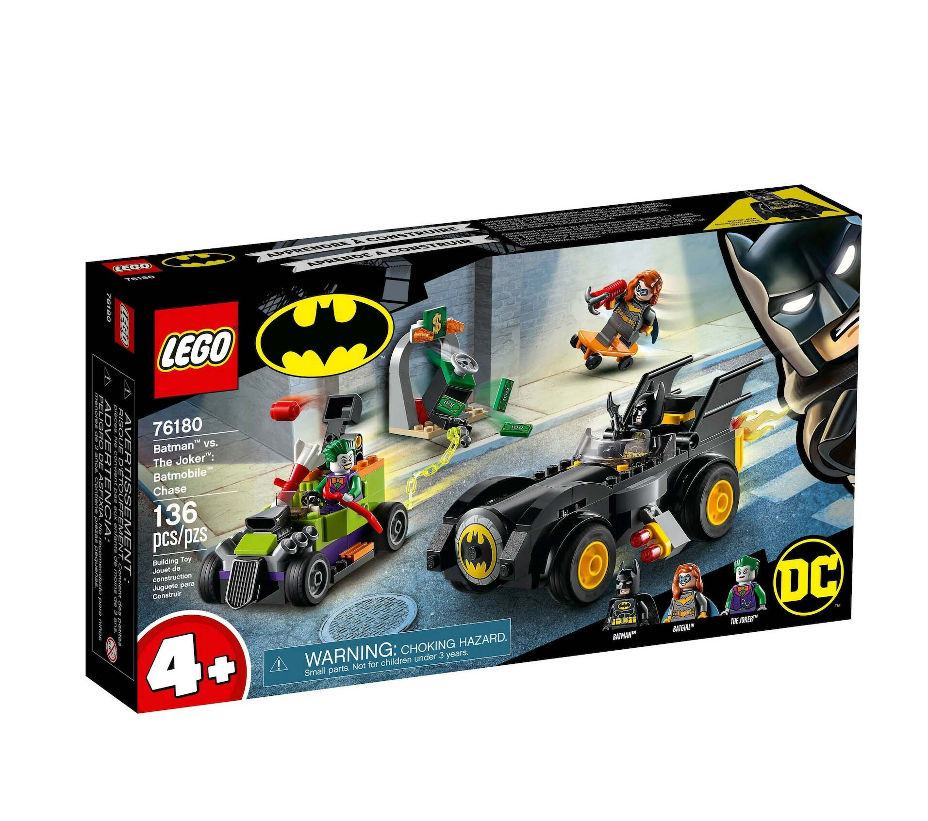 Lego Super Heroes: Batman vs Joker Batmobile Chase 76180