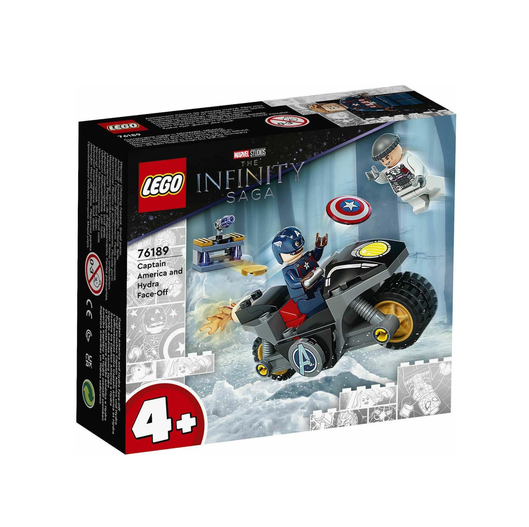 Lego The Infinity Saga: Captain America and Hydra Face-Off 76189