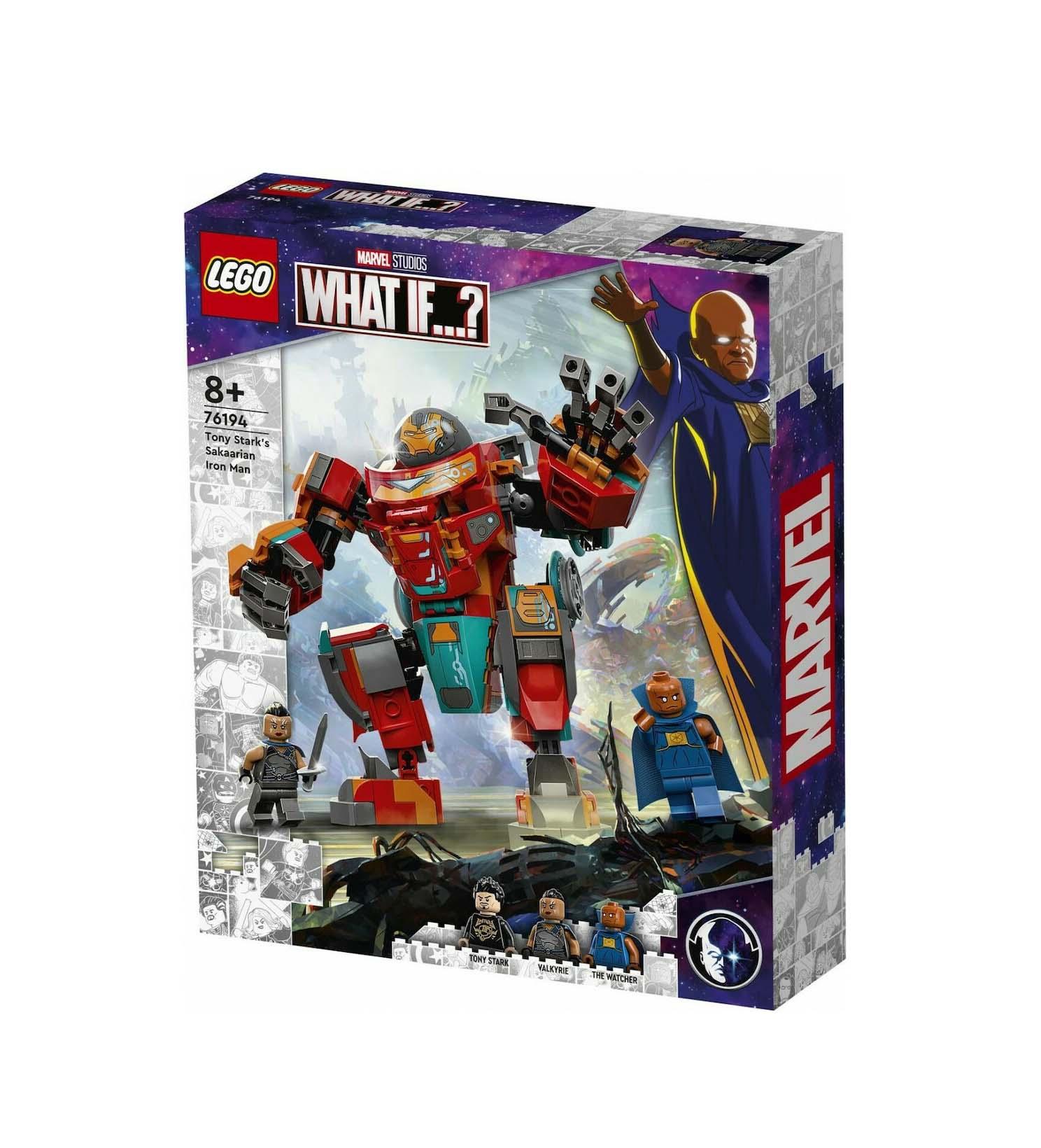 Lego : Tony Stark's Sakaarian Iron Man 76194