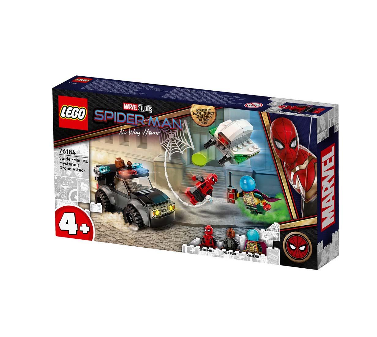 Lego Spider-Man: Spider-man Vs. Mysterio's Drone Attack 76184