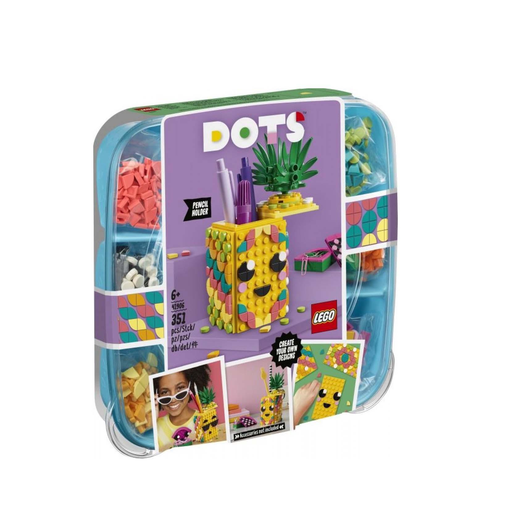 Lego Dots: Pineapple Pencil Holder 41906