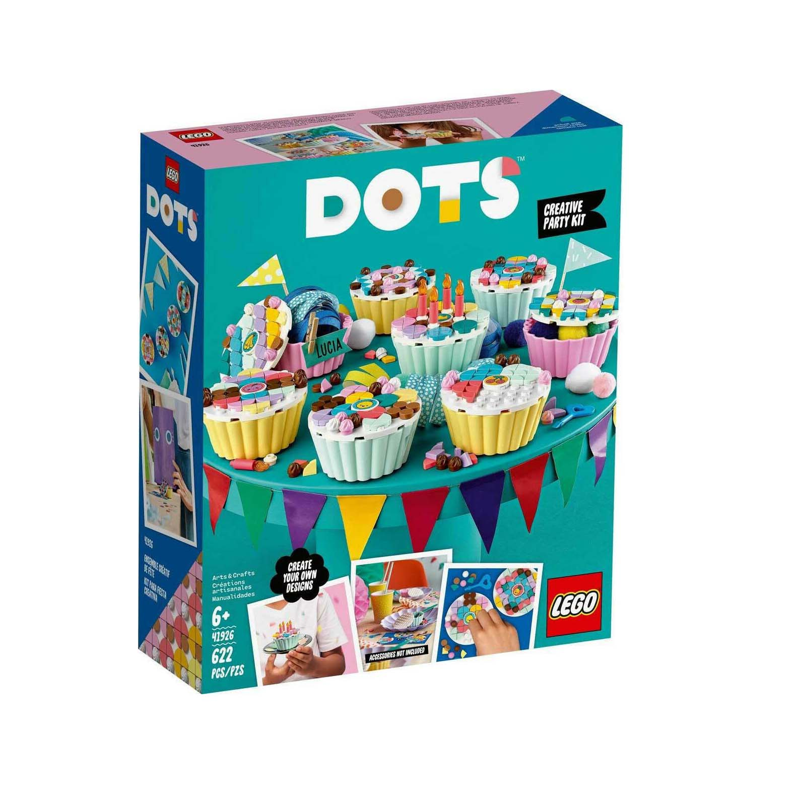 Lego Dots: Creative Party Kit with Cupcakes 41926