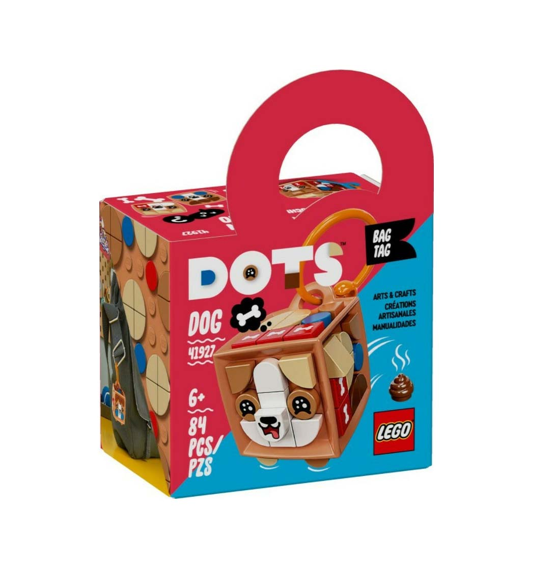 Lego Dots: Bag Tag Dog 41927