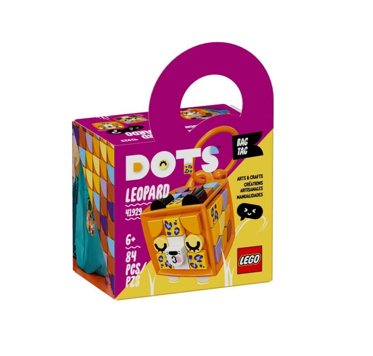 Lego Dots: Bag Tag Leopard 41929