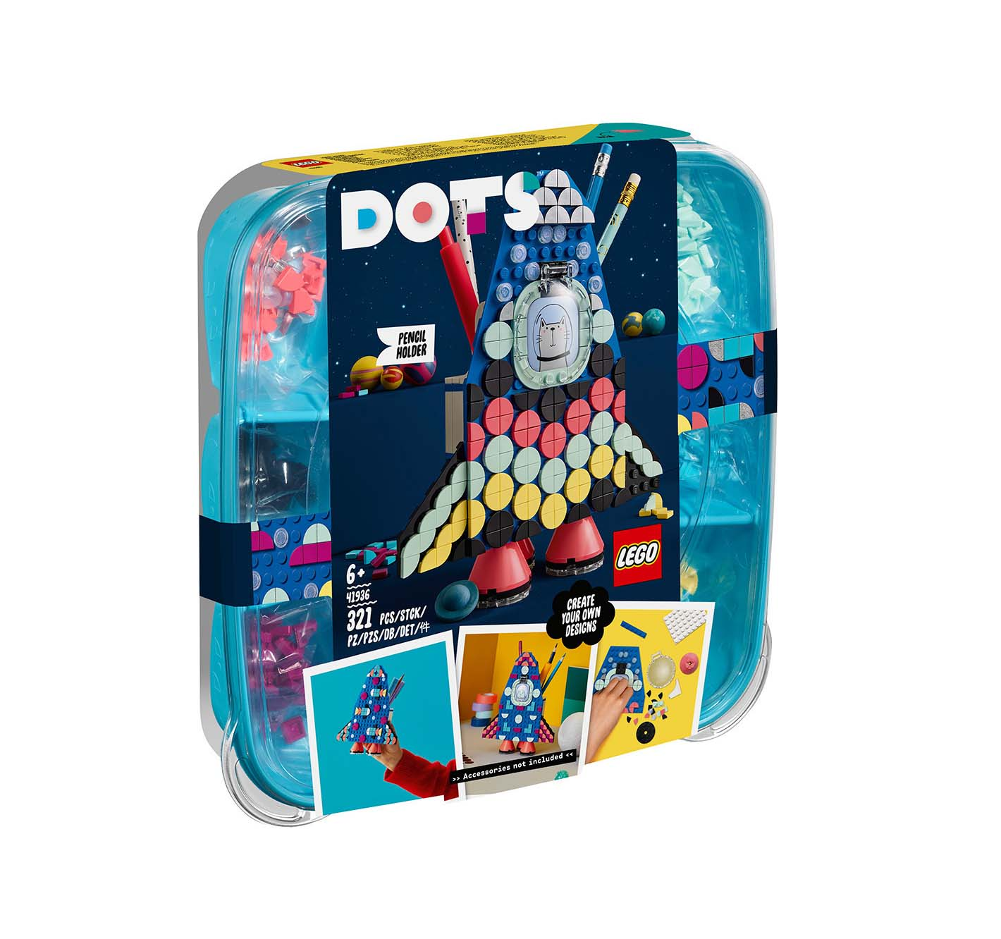 Lego Dots: Pencil Holder 41936