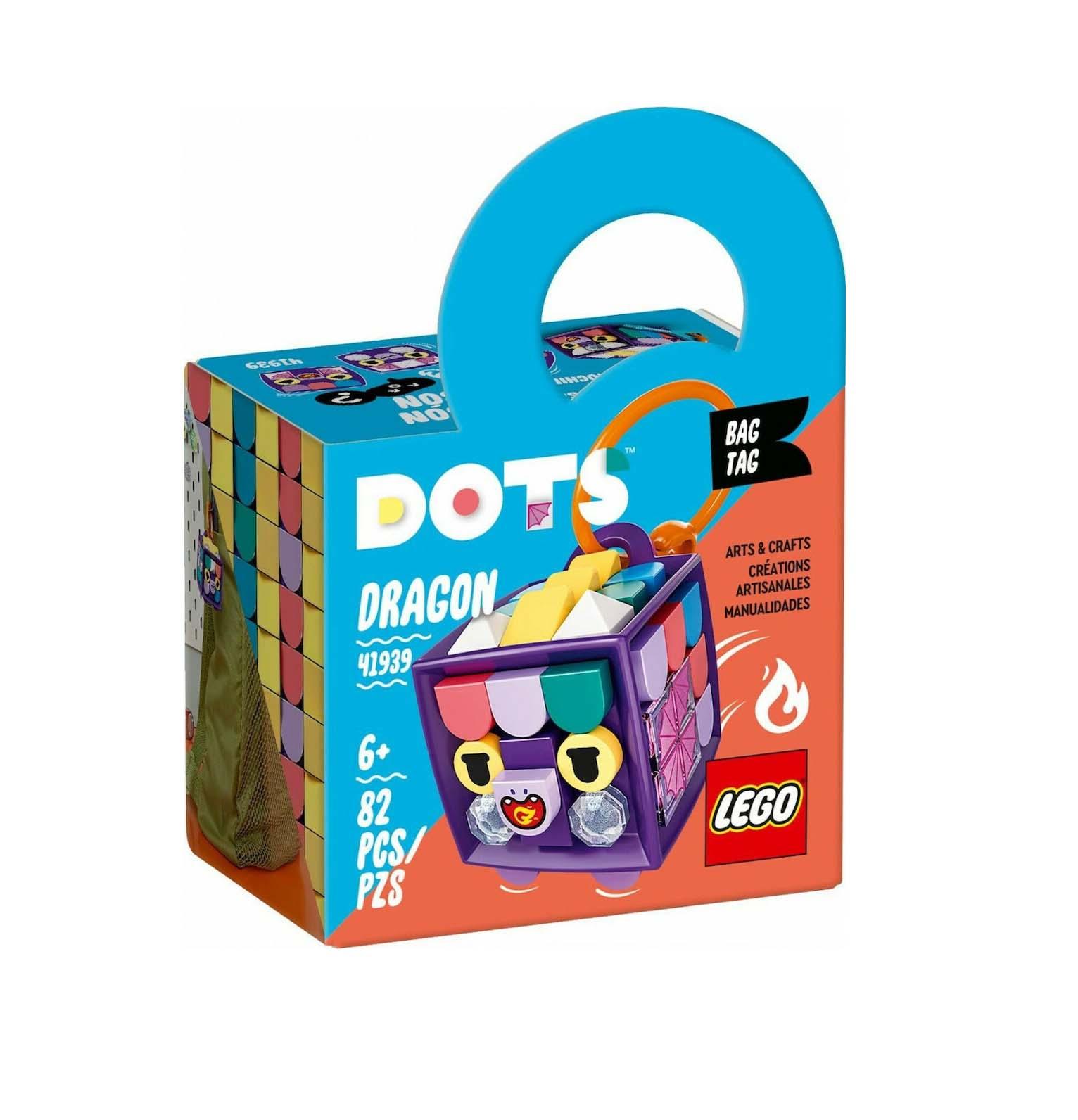 Lego Dots: Bag Tag Dragon 41939