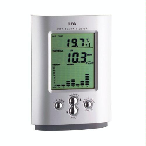 Ηλεκτρονικό Ασύρματο Βροχόμετρο MONSUN (TFA)