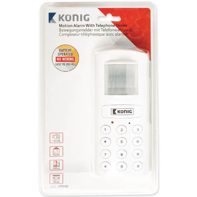 KONIG SAS-APD 10 Telephone dialler with alarm
