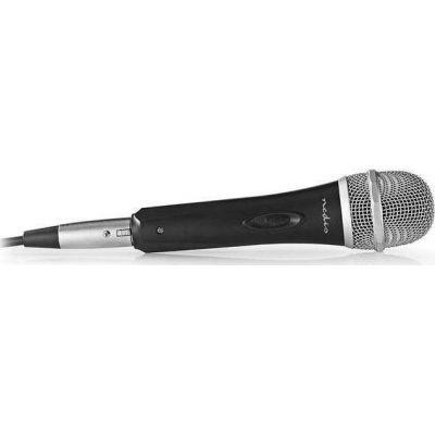 Ενσύρματο μικρόφωνο, με καλώδιο 5m. NEDIS MPWD50BK.