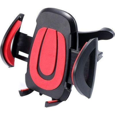 Βάση στήριξης smartphone για τον αεραγωγό του αυτοκινήτου - Κόκκινο - OEM 52857