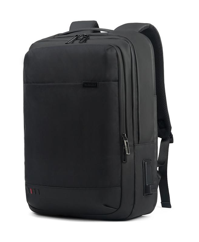 ARCTIC HUNTER τσάντα πλάτης GB00328 με θήκη laptop, USB & 3.5mm, μαύρη - ARCTIC HUNTER 25950