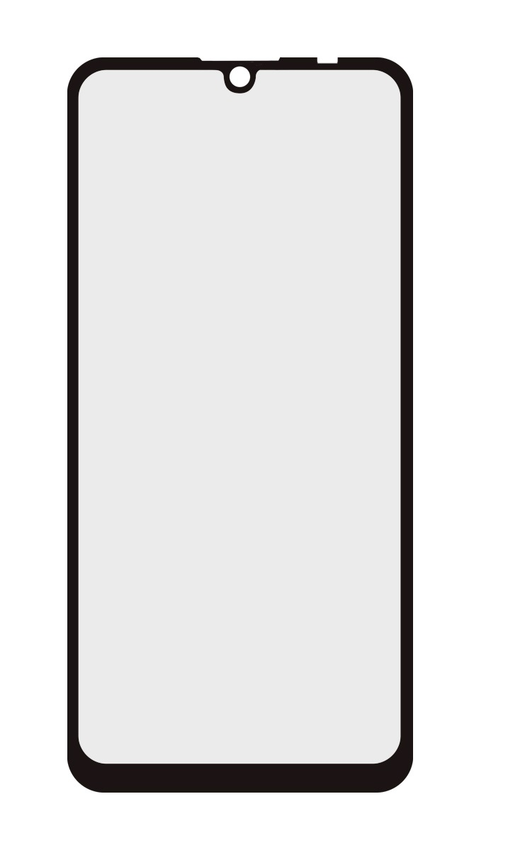 POWERTECH Tempered Glass 5D Full Glue για Huawei P30 Lite, μαύρο - POWERTECH 24511