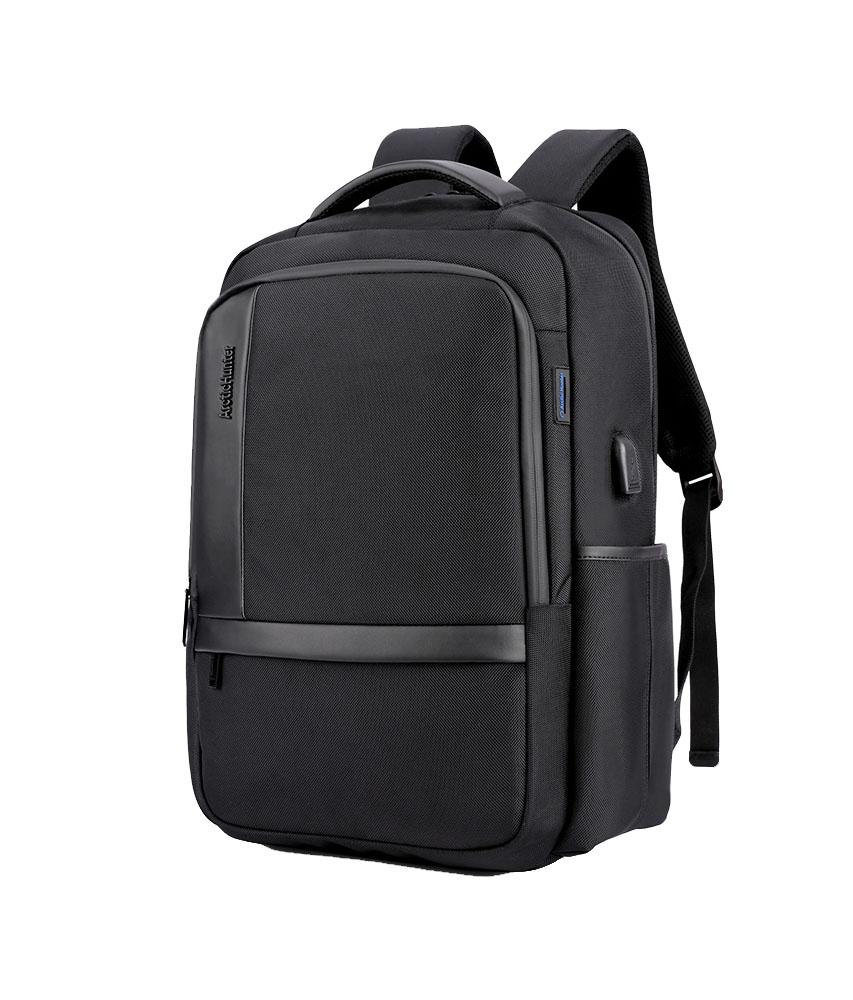 ARCTIC HUNTER τσάντα πλάτης B00120C-BK με θήκη laptop, αδιάβροχη, μαύρη - ARCTIC HUNTER 22819